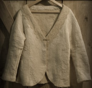 the Alpaca Wedding Jacket
