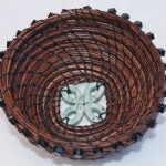 Blessing Bowl Pine Needle Basket by Cheryl Taylor