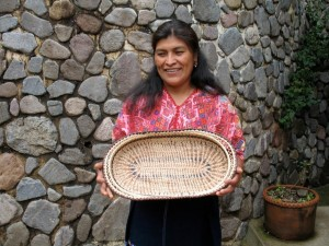 Herlinda and her basket