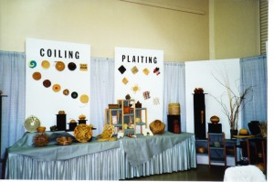Display at 1992 Conference in Benicia