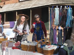 Constance Sheilds and Jan De Shera at Columbia Harvest Festifall