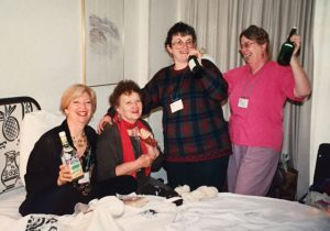 Conference 1995- there's more to conferences tha spinning, weaving, etc.